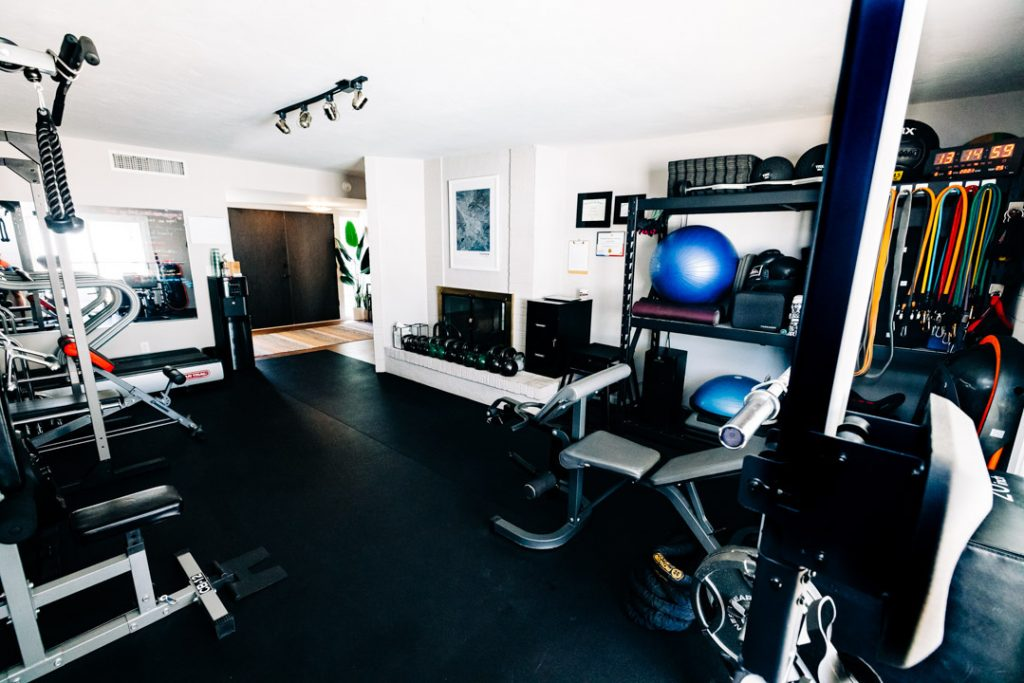 Variety of Equipment in Your Private Training Studio! - Tucson Personal Training